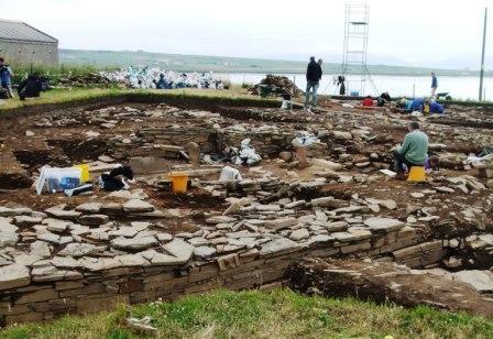 Orkney: Ness of Brodgar dig